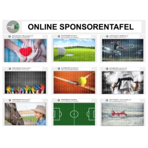 Online Sponsorentafel für ihren Webauftritt! Für Sportvereine und Organisationen