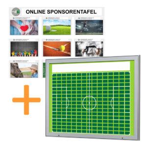 Aussenbereich-Sponsorentafel-Bundleprodukt-Design Fussball