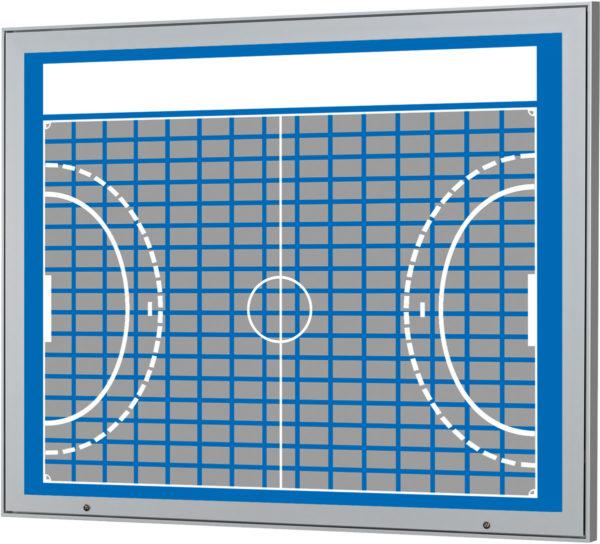 ponsorentafel-Aussenbereich-Wandmontage-Handball-Design
