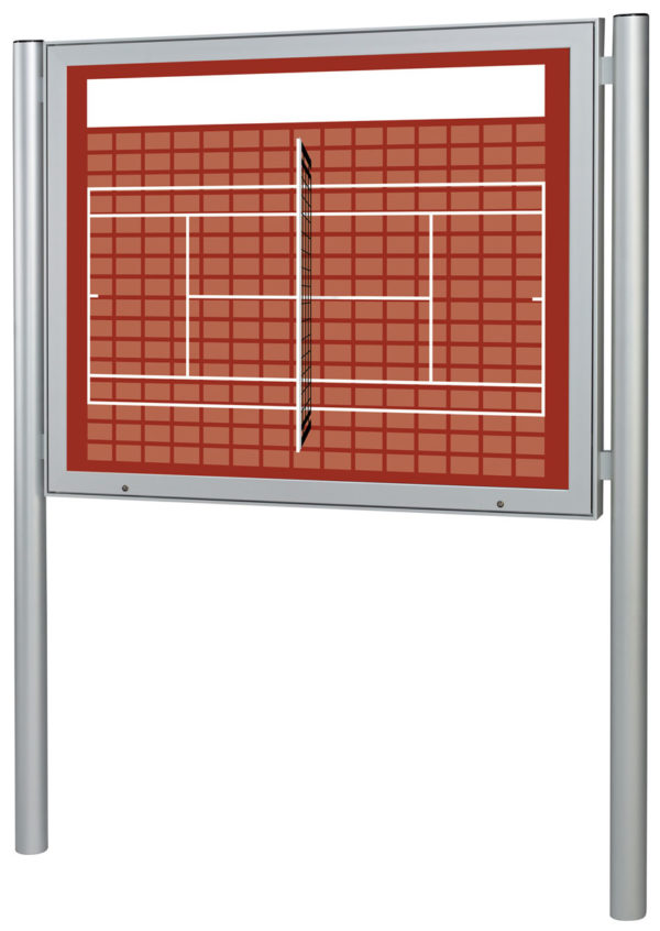 Sponsorentafel-Aussenbereich-mit-Pfosten-Tennis-Design