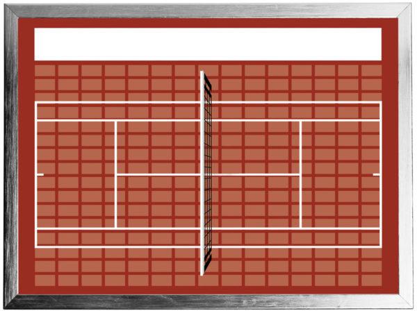 Sponsorentafel-Tennis-Innenbereich von Die Sponsorentafel Ralph Wendling