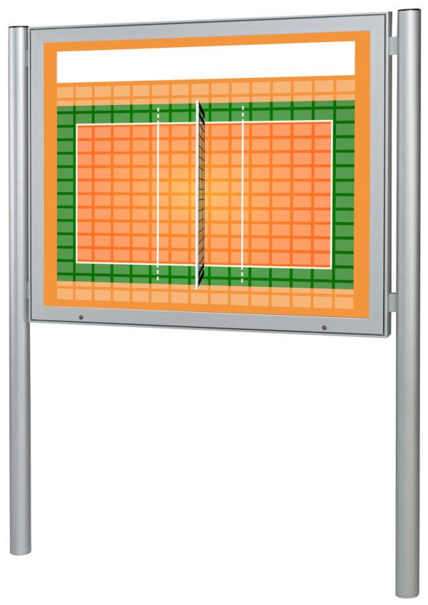 Sponsorentafel-Aussenbereich-mit-Pfosten-Volleyball-Design