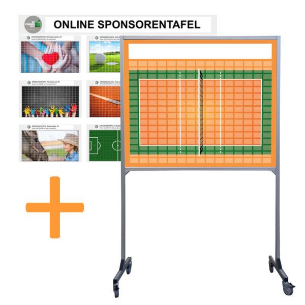 Sponsorentafel-Rollbar-Mobil-Volleyball-Design